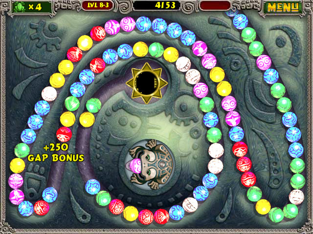 play zuma deluxe online free full screen