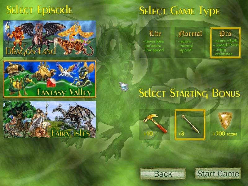 Magic Inlay puzzle game - Jewel arranging fun in a mystical