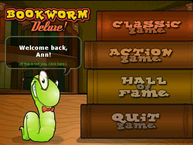 Bookworm Deluxe Word Game Link Letters And Create Words